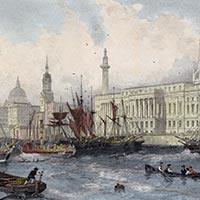 Allom. The port of London. 1839.